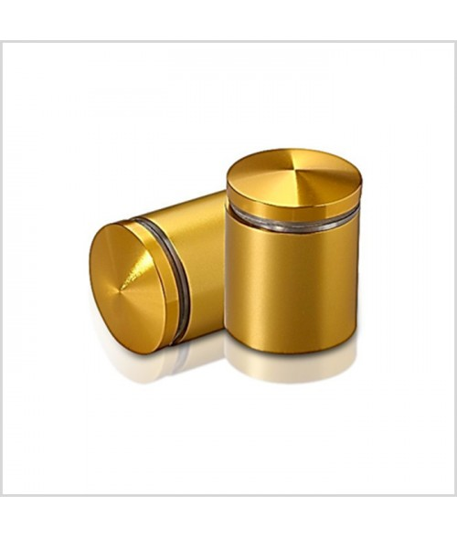 "MBS Gold Anodized Aluminum Stand-Off (1"" Diameter 1"" Barrel Length)"