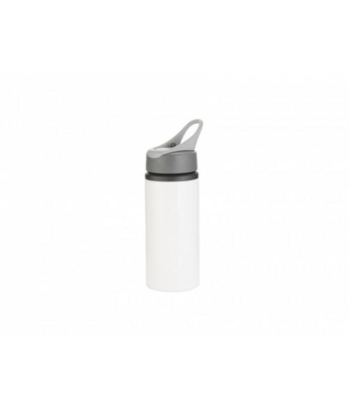 22oz Aluminum Bottle with Handle (White)