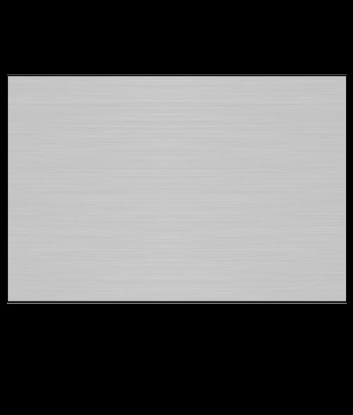 "AlumaMark Satin Silver .020"" Aluminum Sheet with Adhesive"
