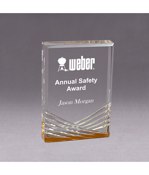 Gold Acrylic Inspire Impress Award