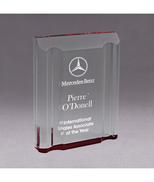 Red Acrylic Channel Mirror Impress Award