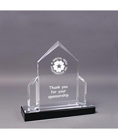 Silver Acrylic Post Impress Award