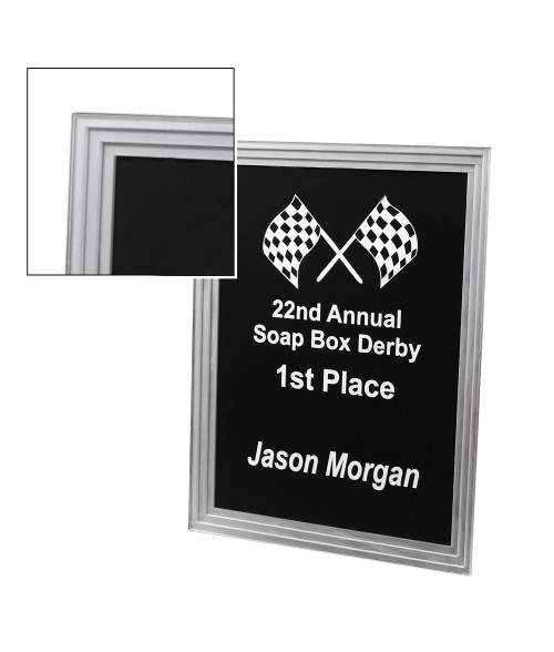Acrylic Triple Edge Plaque