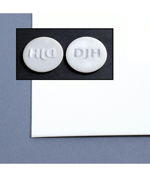 Delrin Sheet for Embossers and Seals