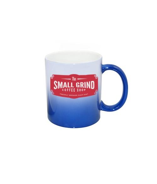 Blue Color-Changing 11oz Ceramic Mug