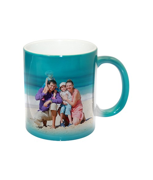Green Color-Changing 11oz Ceramic Mug