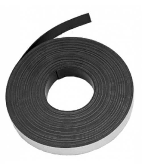 "3/4"" x 200' .030"" Magnetic Tape with Adhesive"
