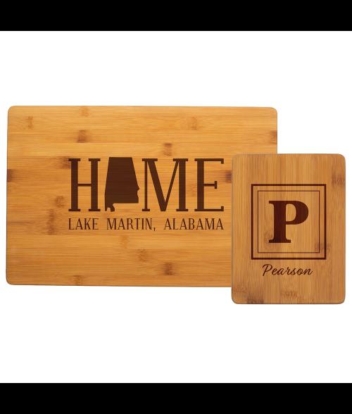 Bamboo Cutting Board (No Handle)