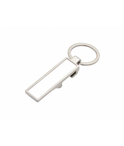 Rectangular Bottle Opener Key Chain