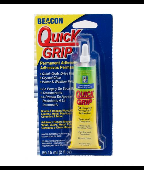 Quick Grip 2oz Liquid Solvent for Bonding Plastics