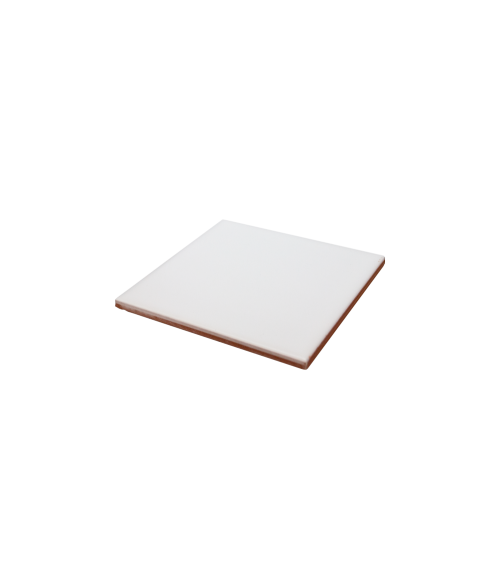 "Bison Satin 4-1/4"" x 4-1/4"" Spacerless Ceramic Tile"