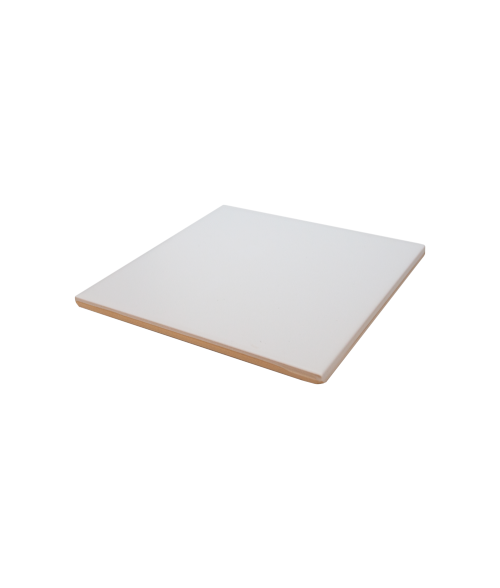 "Bison Satin 6-1/8"" x 6-1/8"" Spacerless Ceramic Tile"