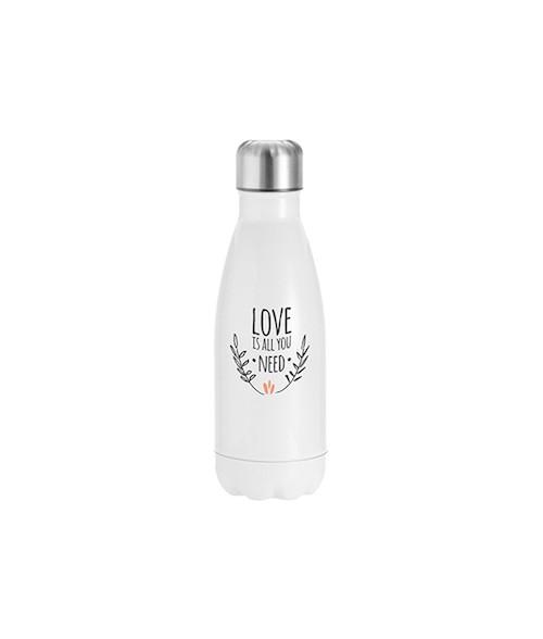 Stainless Steel Cola White Bottle 350ml