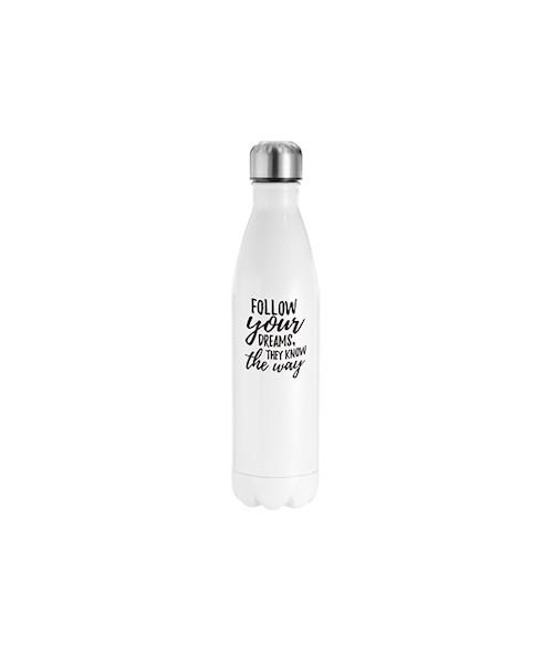 Stainless Steel Cola White Bottle 750ml