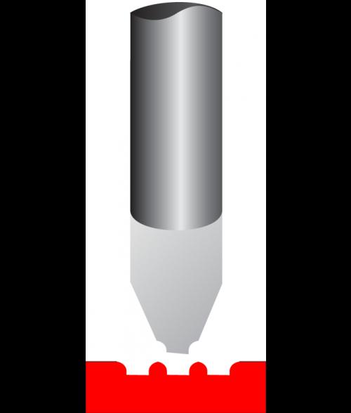 Antares Carbide Braille Dot Cutter