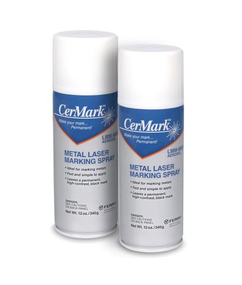 CerMark LMM6000 12oz Metal Marking Spray Value Pack (2 Cans)