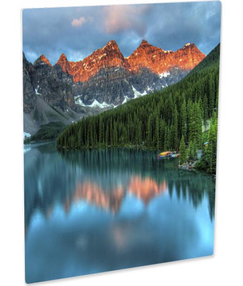 Unisub ChromaLuxe EXT Gloss White Aluminum Photo Panel