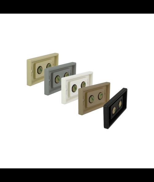 "Rowmark Portico 2"" x 4"" Square Poly Wall Frame"