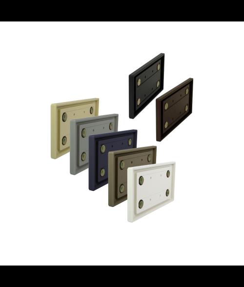 "Rowmark Portico 4"" x 8"" Square Poly Wall Frame"