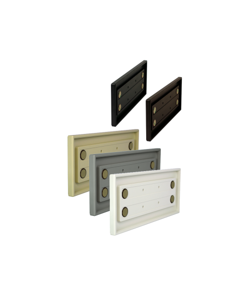 "Rowmark Portico 4"" x 10"" Square Poly Wall Frame"