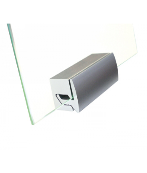 Rowmark Fisso Clamper Matte Silver Mounting Fixture