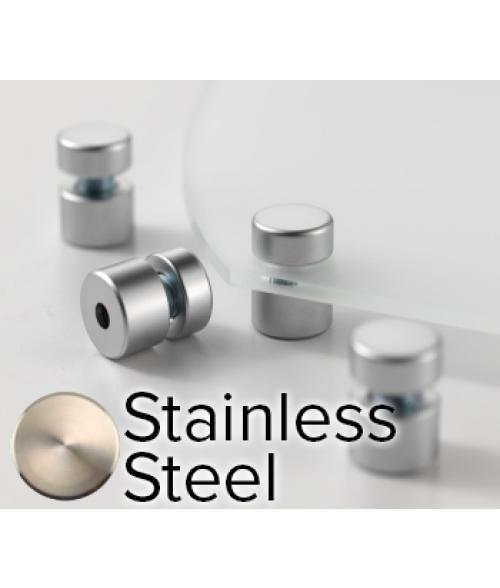 "Rowmark Elite Stainless Steel StandOffs (.59"" Diameter .39"" Barrel Length)"