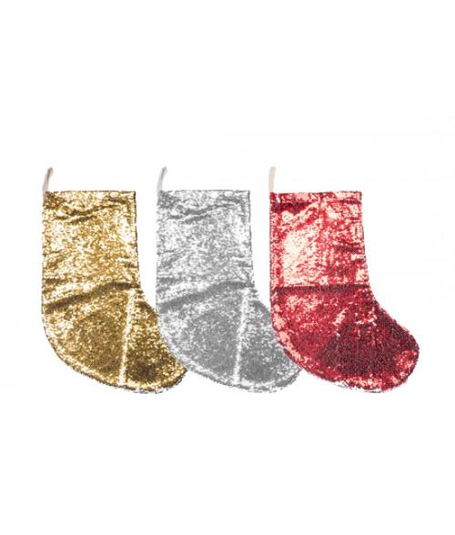 Sequin Christmas Stocking