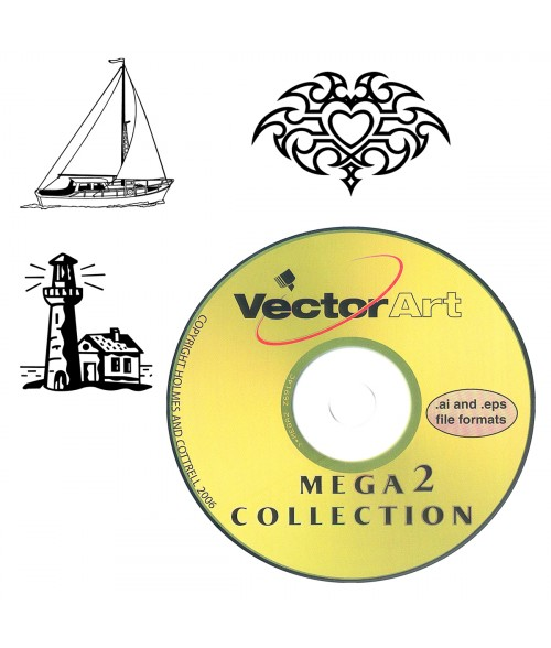 Vector Art Clip Art Library - Mega Collection 2