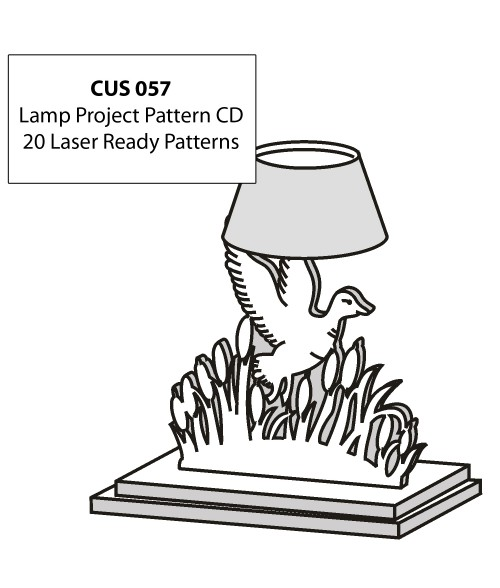 LaserBits CorelDRAW Design Patterns (Lamp Projects)