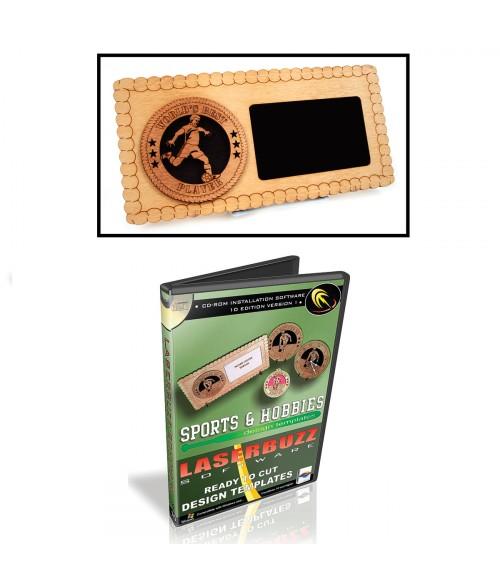 LaserBits LaserBuzz Design Patterns (1D Sports & Hobbies Vol 1)