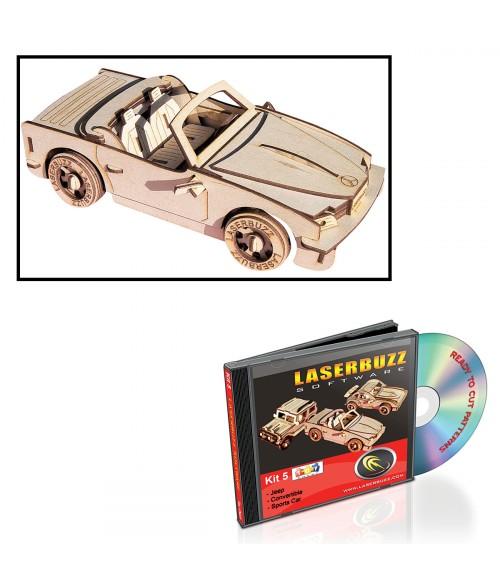 LaserBits LaserBuzz Design Patterns (Vehicle Patterns)