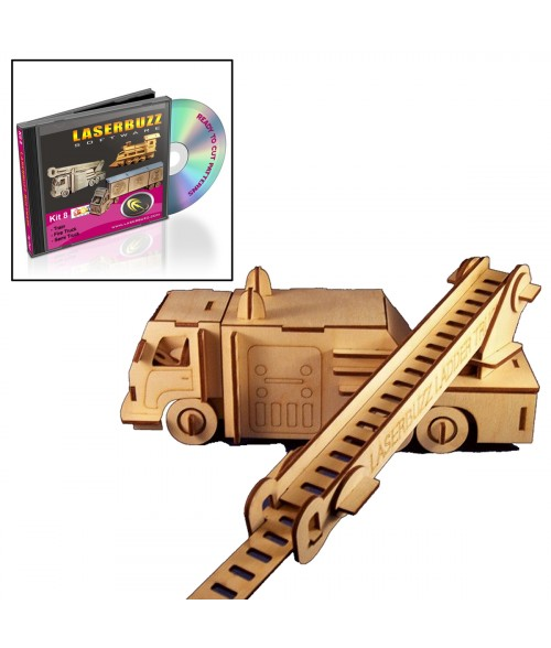LaserBits LaserBuzz Design Patterns (Heavy Vehicle Patterns)