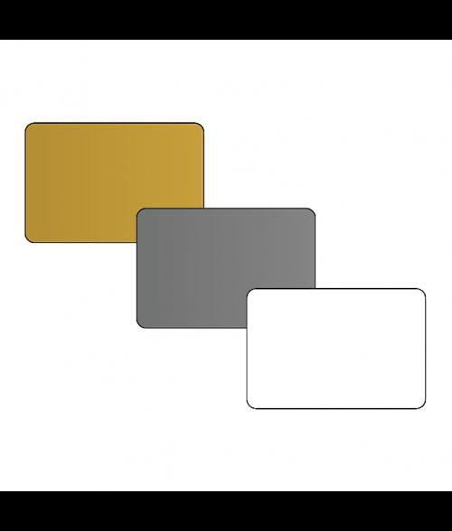 "DCS 2"" x 3"" .060"" Print Receptive Blank PVC Card"