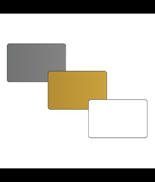 "DCS 2.5"" x 3.7"" .060"" Print Receptive Blank PVC Card"