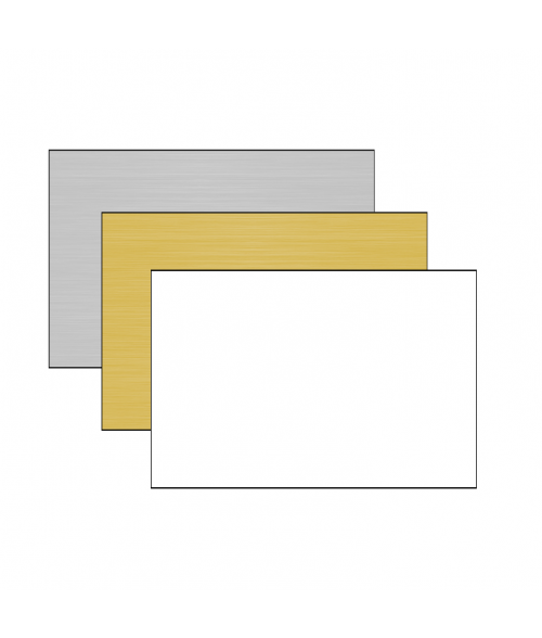 "DecoSub 12"" x 24"" 1-Sided Aluminum Sheet"