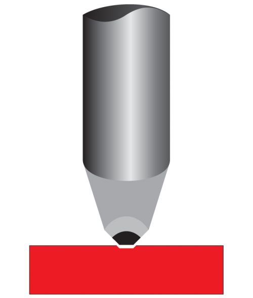 "Antares .003"" Tip Carbide Diamond Burnisher for Pens"