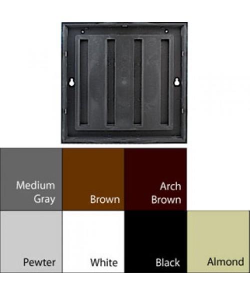 "JRS Designer2 Series Black 4"" x 4"" Plastic Frame"
