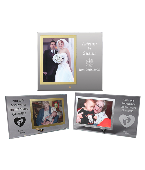 Glass Photo Frame
