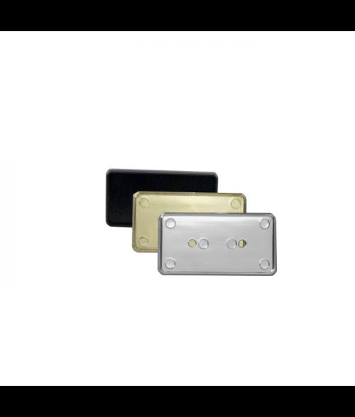 """Rowmark Identifiers Badge Frame For 1-13/32"""" x 2-25/32"""" x 1/8"""" Insert"""