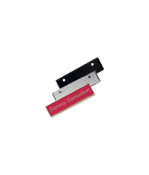 "Rowmark Identifiers Square Badge Frame For 19/32"" x 2-9/16"" Insert"