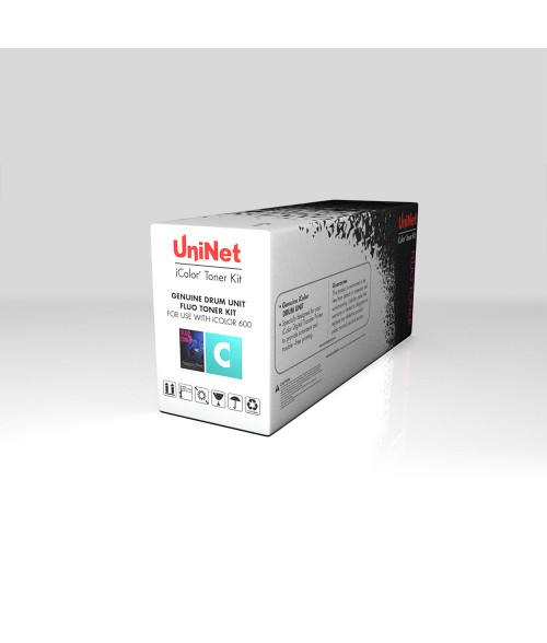 UniNet iColor 600 Fluorescent Cyan Drum