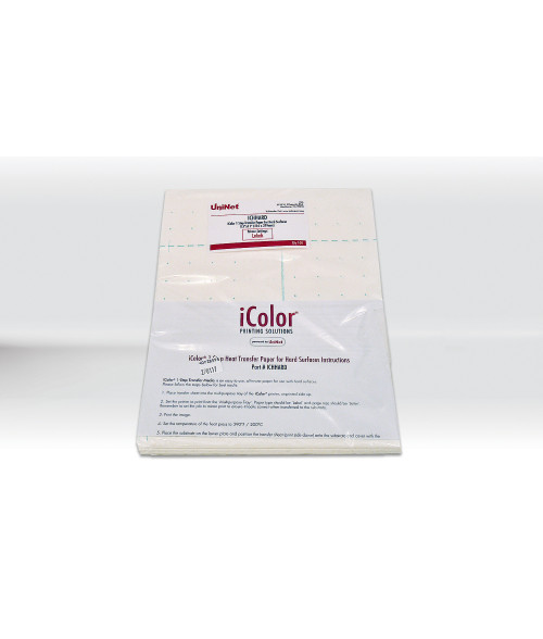 "iColor® 1-Step Heat Transfer Paper for Hard Surfaces (8.5"" x 11"")"