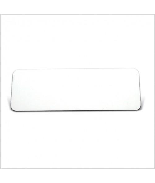 "Image Maker Unisub White 1"" x  3"" .030"" Aluminum Blank"