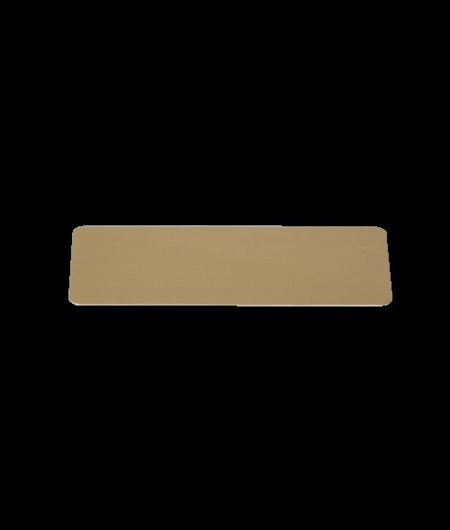 "Image Maker Dynasub Gold 1"" x  3"" .020"" Aluminum Blank"