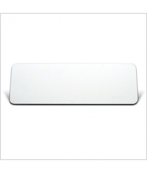 "Image Maker White 1"" x 3"" .025"" Multi-Use Aluminum Blank"