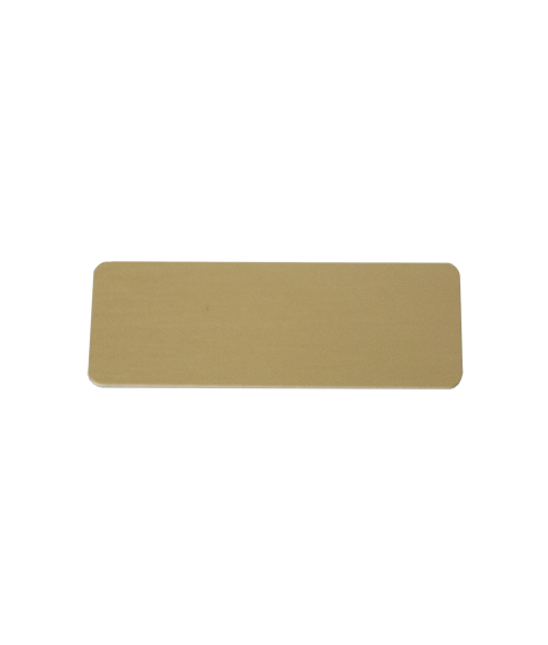 "Image Maker Gold 1.5"" x  2.75"" .025"" Aluminum Blank"