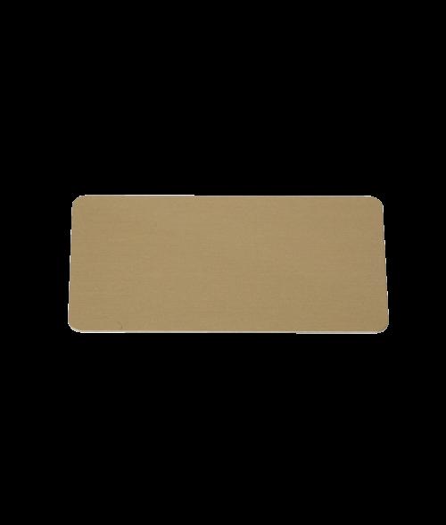"Image Maker Dynasub Gold 1.5"" x  2.75"" .020"" Aluminum Blank"