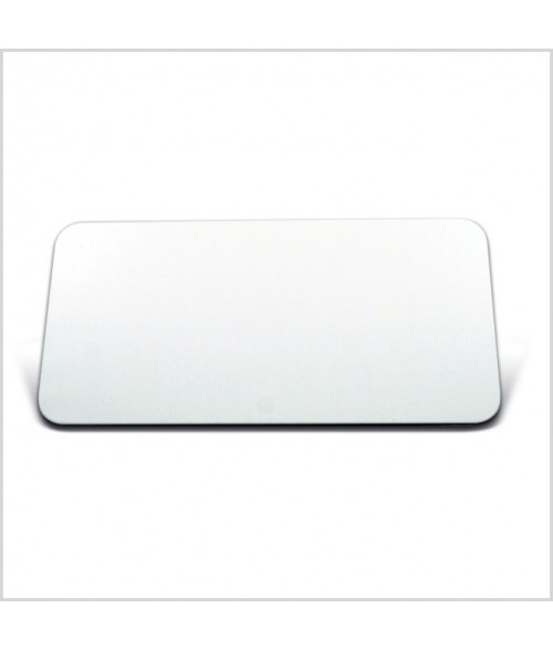 "Image Maker White 1.5"" x 3"" .025"" Multi-Use Aluminum Blank"