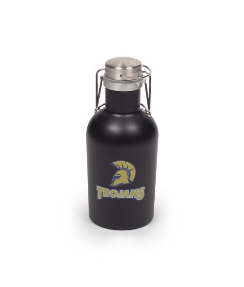 Matte Black 32oz Stainless Steel Beer Growler