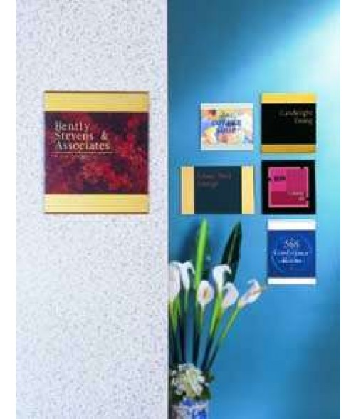 JRS Decorative Bar Series Sales Brochure